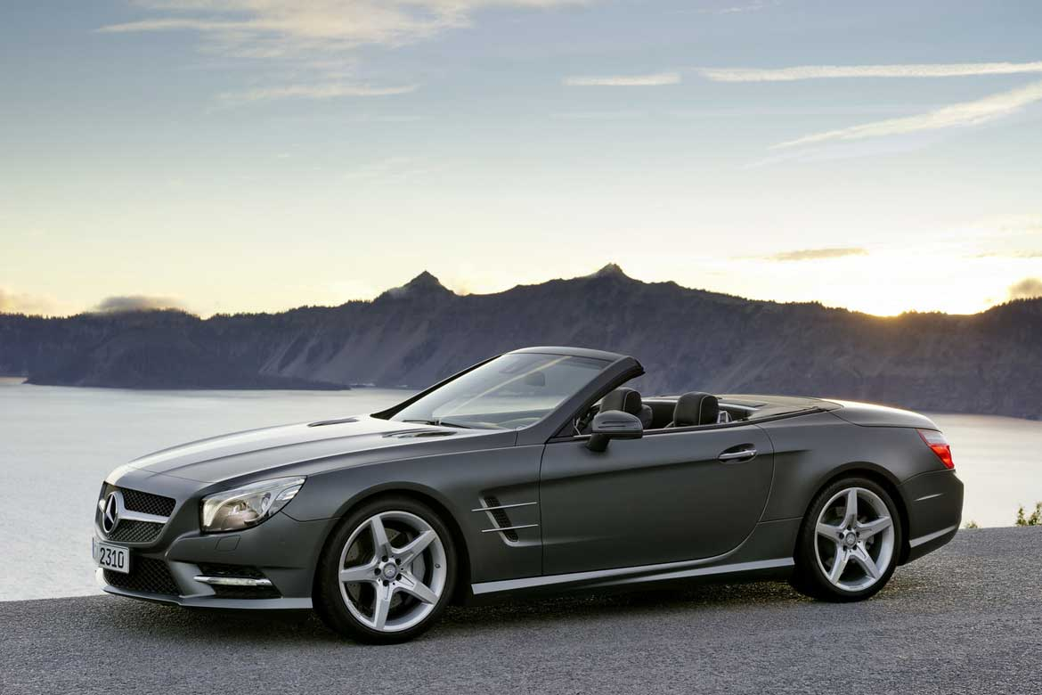 Options Explained: 2013 Mercedes SL 550 Options, Option Packages And Colors  SL Class