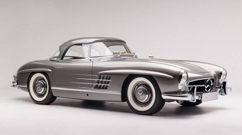 1960 Mercedes 300SL Roadster at Gooding and Company Scottsdale 2018 Mercedes Market-2