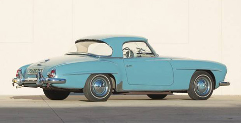 1962 Mercedes 190SL at Gooding and Company Scottsdale 2018 Mercedes Market