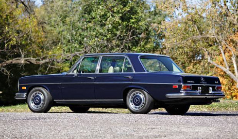 1970 Mercedes 300SEL 6.3 at Gooding and Company Scottsdale 2018 Mercedes Market