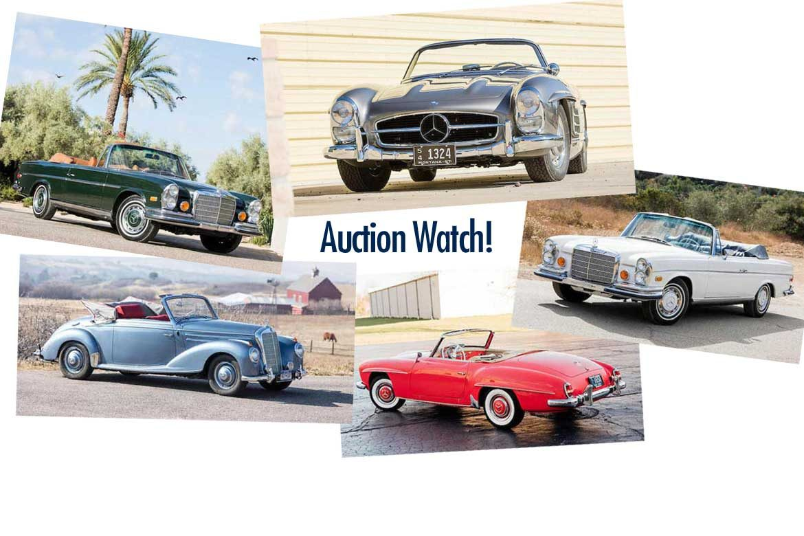 Bonhams Auction Scottsdale 2018 Preview - Classic Mercedes For Sale ...