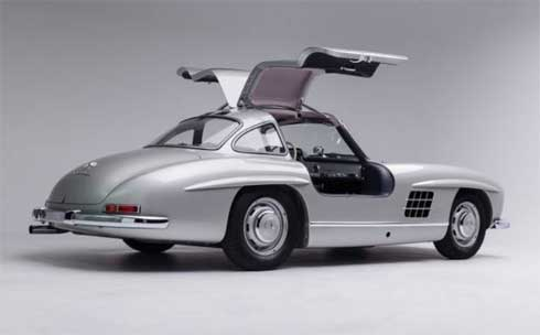 Classic Mercedes Gooding and Company Scottsdale 2018 1956-Mercedes-Benz-300-SL-Gullwing