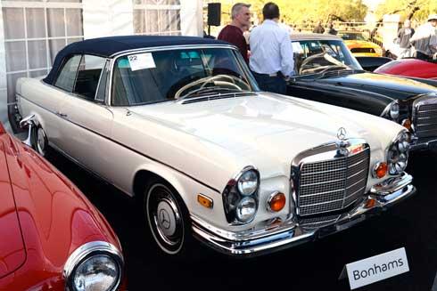 Mercedes-W111-280SE-3.5-convertible-Bonhams-Scottsdale