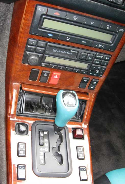 1997-Mercedes-Benz-R129-La-Costa-Edition-Shift-knob-insert-Mercedes-Market