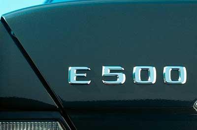 Mercedes-W124-500E-1994-Mercedes-name-change