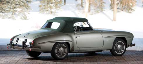 1956-Mercedes-Benz-190-SL Mercedes Market Auction Preview Amelia Island