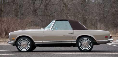 1968-Mercedes-Benz-280-SL-Pagoda Mercedes Market Auction Preview Amelia Island