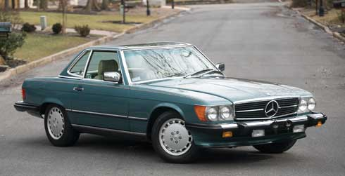 1988-Mercedes-Benz-560-SL-Mercedes Market Auction Preview Amelia Island