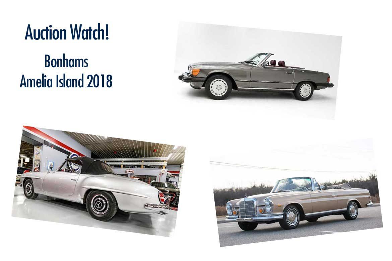 Bonhams Amelia Island 2018 - Mercedes Collector Cars Preview and ...
