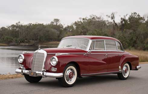 Gooding-and-Company-Ameila-Island-2018-1958-Mercedes-300-D-Adenauer-Mercedes-Market-Preview-1