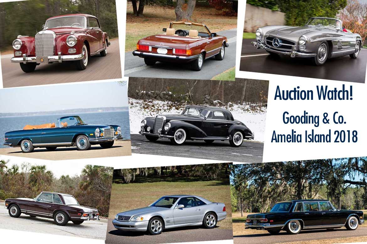 Gooding and Company Amelia Island 2018 - Mercedes Collector Cars ...