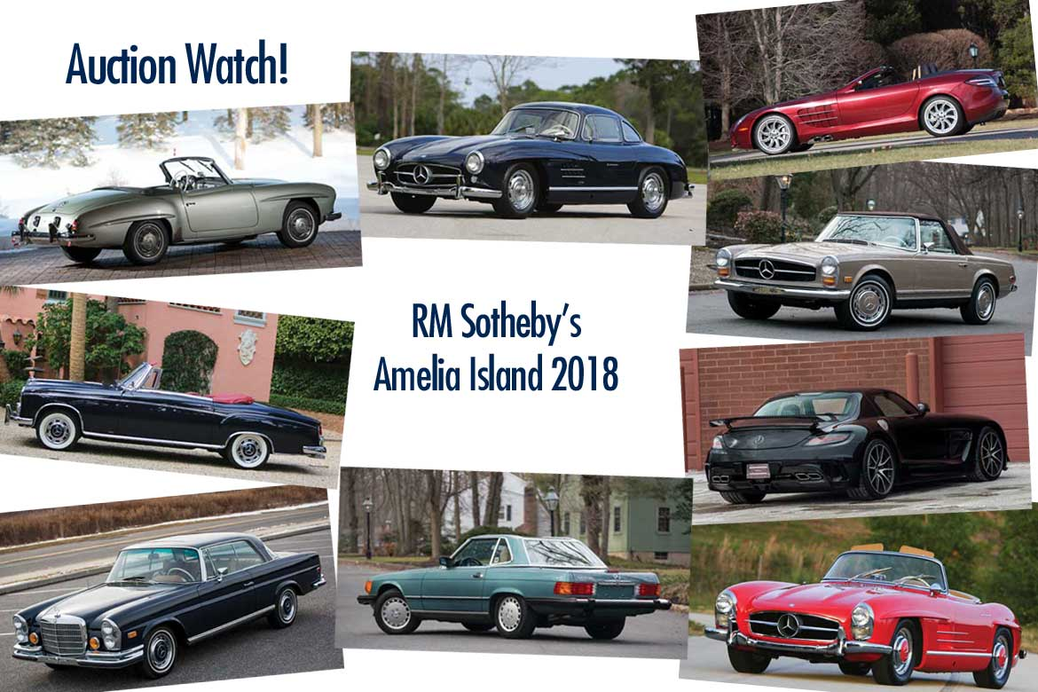 RM Sotheby\'s Amelia Island 2018 - Mercedes Collector Cars Preview ...