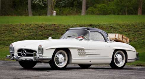 Lot-140-Gooding-and-Company-Auctions-Pebble-Beach-2018-Mercedes-300SL-Roadster