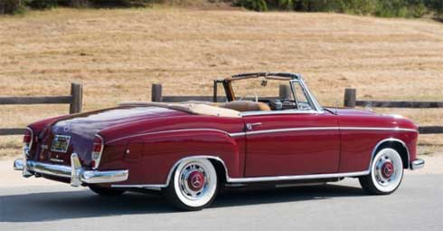 Lot-174-Gooding-and-Company-Auctions-Pebble-Beach-2018-Mercedes-220SE-Convertible