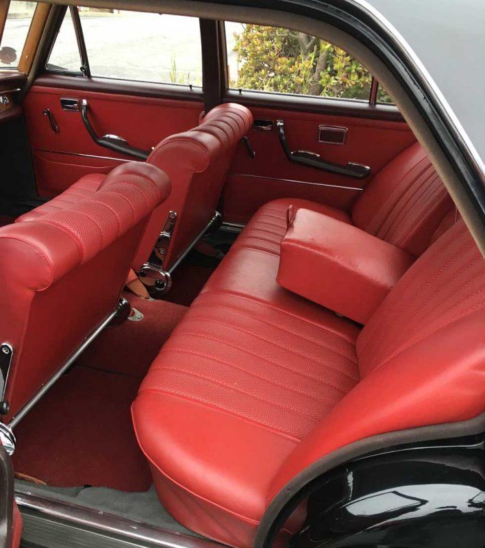 1965 Mercedes 250S Red MB tex interior 1