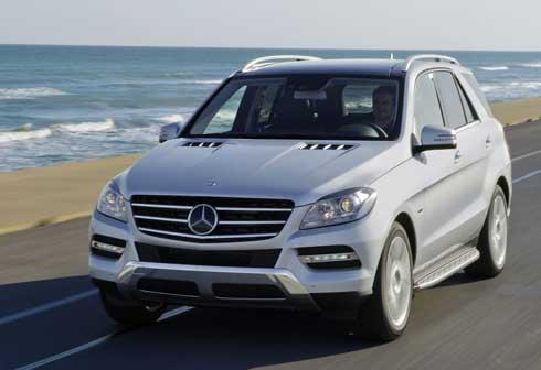 2014-Mercedes-ML350-Exterior