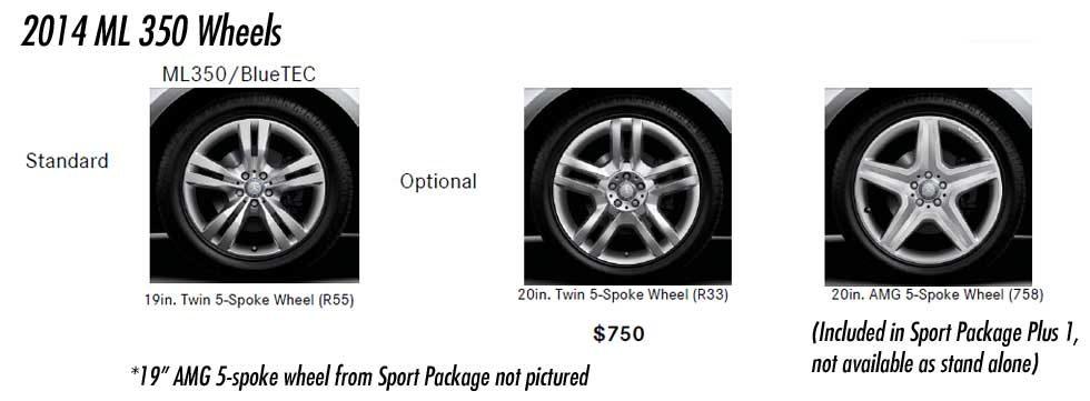 2014-Mercedes-ML350-Wheel-Options