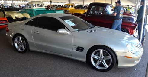 2003-SL500-designo-Launch-Edition-Barrett-Jackson-Mercedes-Auction-Results-Arizona-2018