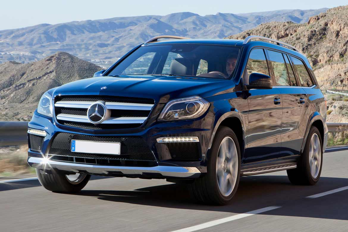 Mercedes P1 Package vs  P2 Package in the 2012 GL450, GL350