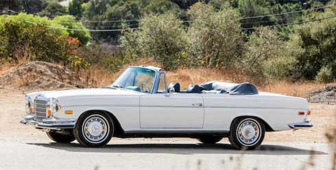 Bonhams-Auction-Scottsdale-2018-Mercedes-280SE-3.5-Cabriolet