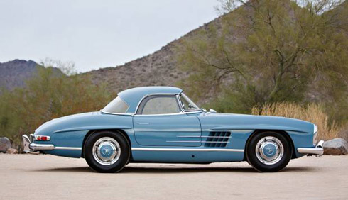 Classic Mercedes Gooding and Company Scottsdale 2018 1957-Mercedes-Benz-300-SL-Roadster DeAtley 300SL
