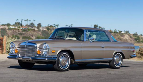 1971 Mercedes 280se 3 5 W111 Coupe Convertible At Gooding And Company Scottsdale 2018 Market