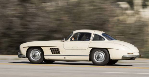 Clic Mercedes Gooding And Company Scottsdale 2018 1954 Benz 300 Sl