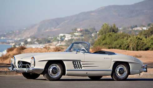 Classic-Mercedes-Gooding-and-Company-Scottsdale-2018-1963-Mercedes-Benz-300-SL-Roadster