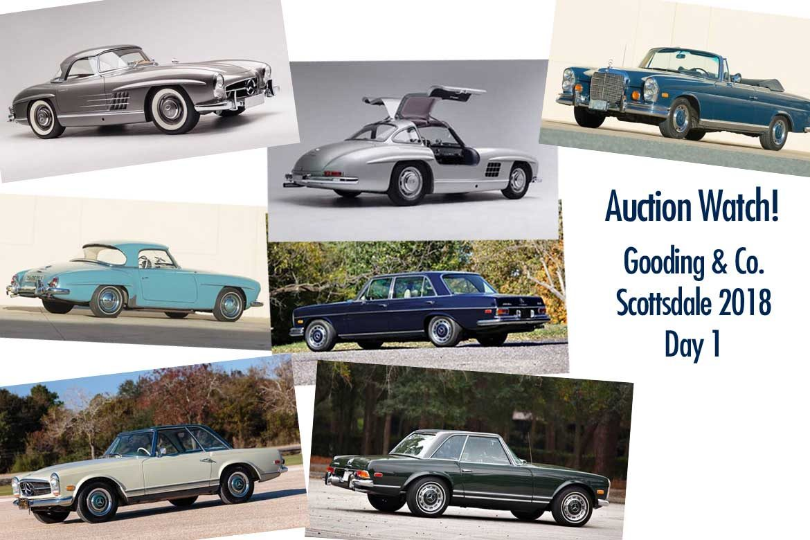 Collectible Mercedes At Gooding And Company Scottsdale 2018 Day 1 Friday January 19