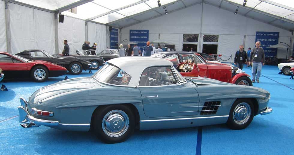Mercedes 300SL Roadster Hard Top