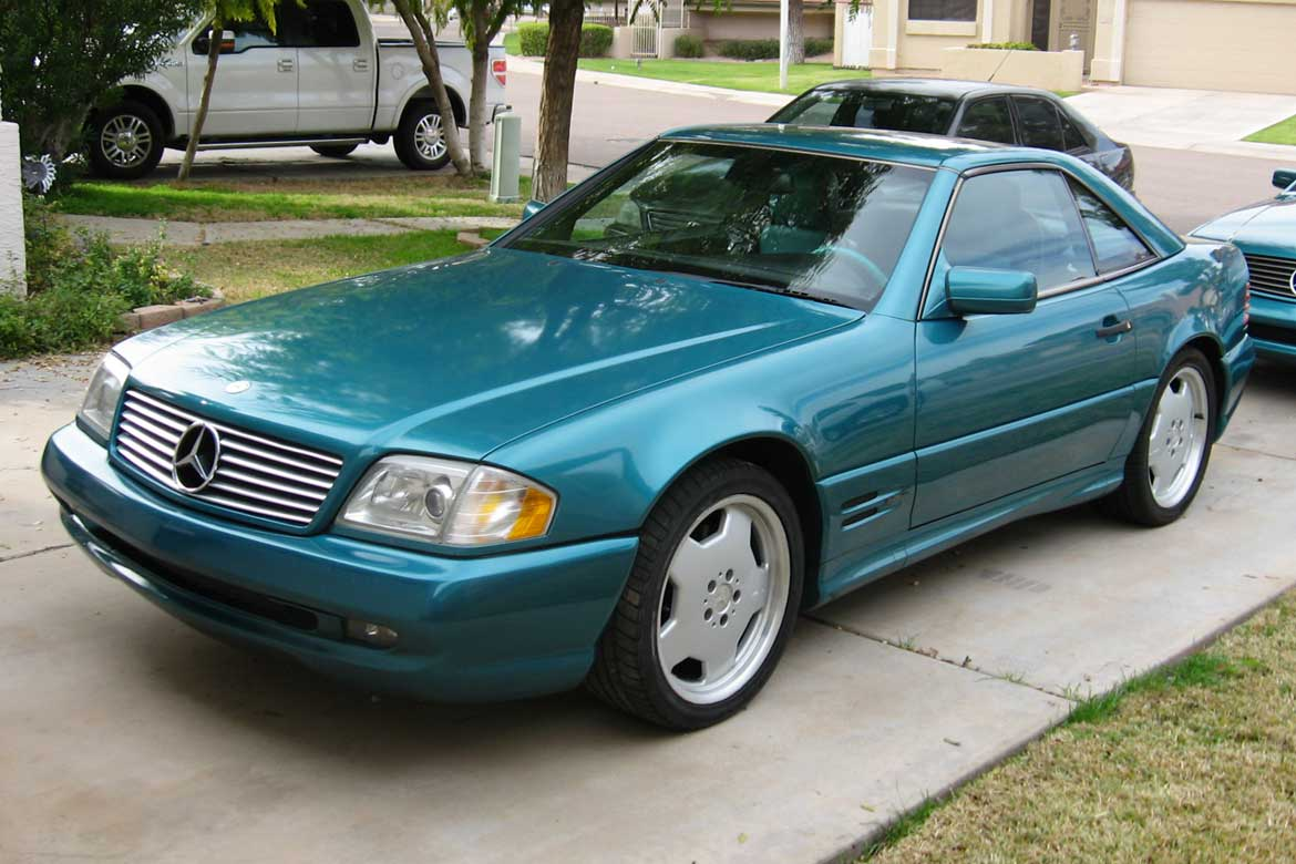 1997 Mercedes SL500 La Costa Edition – Just 30 Examples Produced