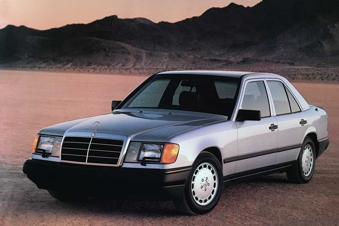 The Mercedes W124 in America from 300 Class to E Class (1986 – 1995)