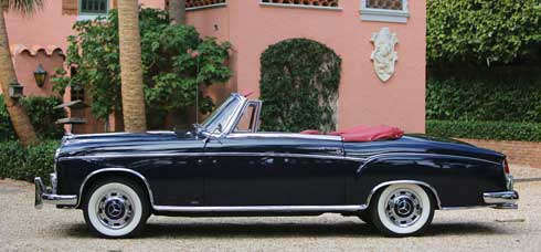 1958-Mercedes-Benz-220-S-Cabriolet-Mercedes Market Auction Preview Amelia Island