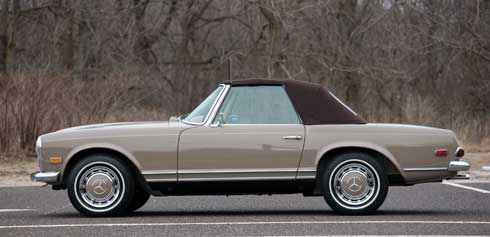 1968-Mercedes-Benz-280-SL-Pagoda Mercedes Market Auction Preview Amelia Island