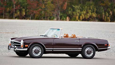 Gooding-and-Company-Ameila-Island-2018-1971-Mercedes-280SL-Mercedes-Market-Preview