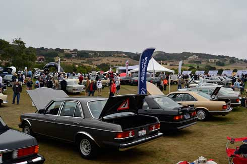 Legends-of-the-Autobahn-Car-Show-Monterey-Car-Week-Silver-Star-Preservation-Class-MBCA
