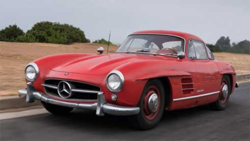 Lot-061-Gooding-and-Company-Auctions-Pebble-Beach-2018-Mercedes-300SL-Gullwing