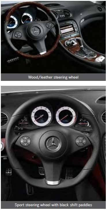 2009-Mercedes-R230-SL550-Steering-Wheel-Options-Mercedes-Market-Options-Explained