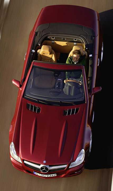 2009-Mercedes-SL550-Facelift-Mercedes-Market-Options-Explained-Hood-Ridges