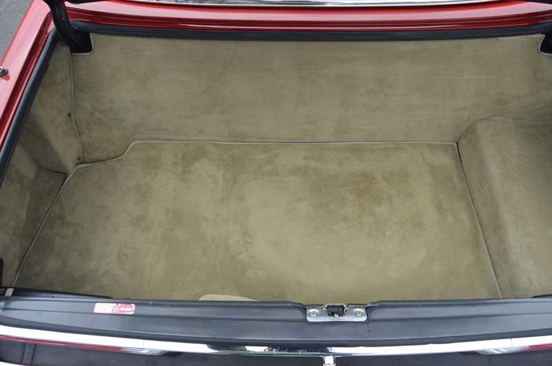 Mercedes Trunk Strap Spare Tire 560SL R107 - 3