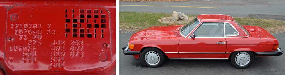 568-Signal-Red-Mercedes-Paint-Color-1987-560SL