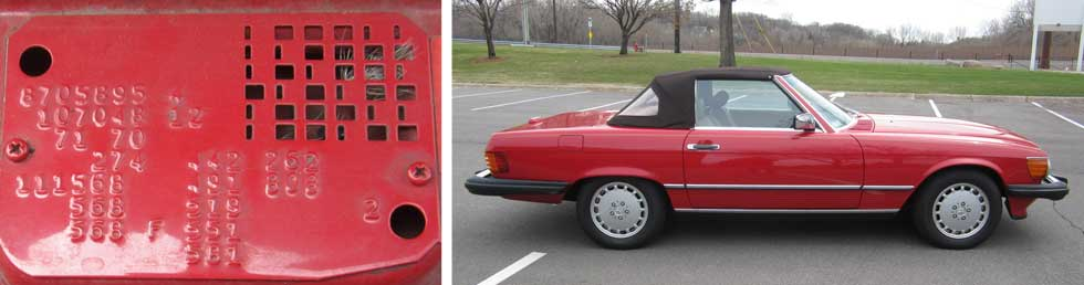 568-Signal-Red-Mercedes-Paint-Color-1988-560SL