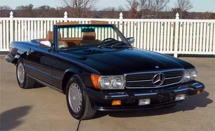 Barrett-Jackson-1989-Mercedes-560SL-Arizona-2019