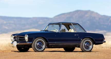 Bonhams-Auction-Scottsdale-2019-Mercedes-Market-Mercedes-230SL-prices