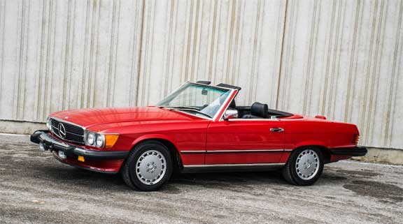 Bonhams-Auction-Amelia-Island-2019-Mercedes-560SL-R107