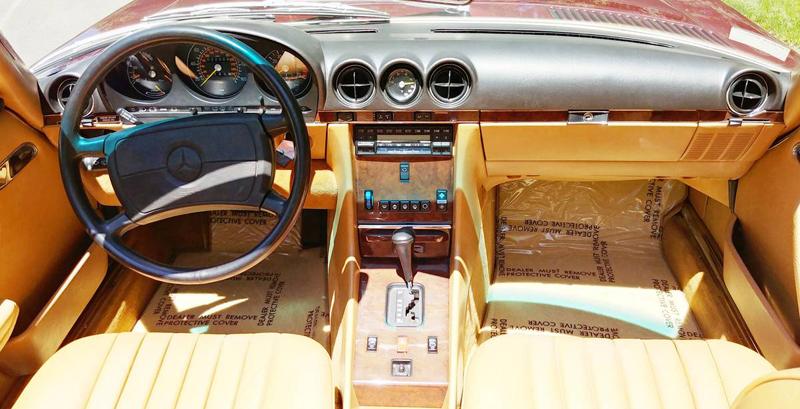 1988-Mercedes-560SL-For-Sale-Mercedes-Market-Cabernet-Red-Metallic-Java-Leather