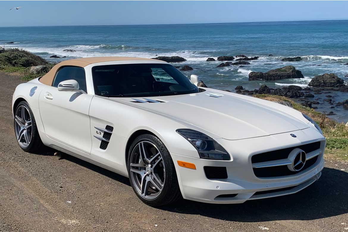 Road Trip! Buying a Mercedes SLS AMG Roadster - And a Trip ...