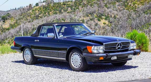 Mercedes-560SL-Bonhams-Quail-Lodge-2019-Mercedes-Market