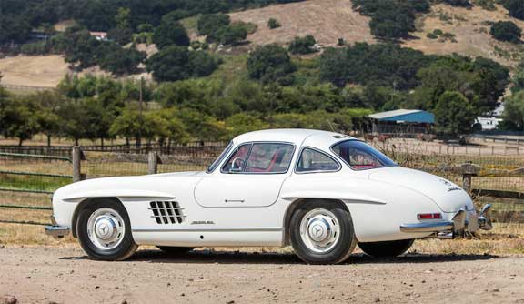 Mercedes-300SL-Gullwing-Bonhams-Quail-Lodge-2019-Mercedes-Market