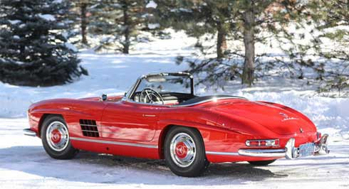 Lot-015-Gooding-Auctions-Scottsdale-2020-Mercedes-300-SL-Roadster